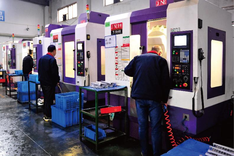 CNC Machining workshop-Sunrise Metal