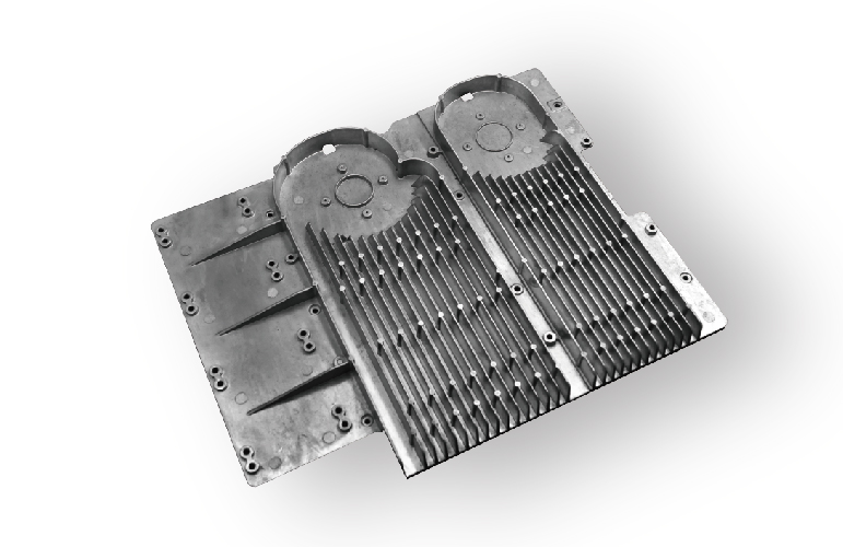 Heat Sink-High pressure die casting-Sunrise Metal