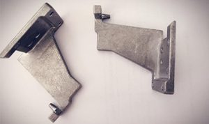 Die casting holder part