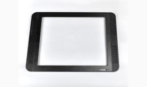 Black medical frame-die casting part-Sunrise Metal