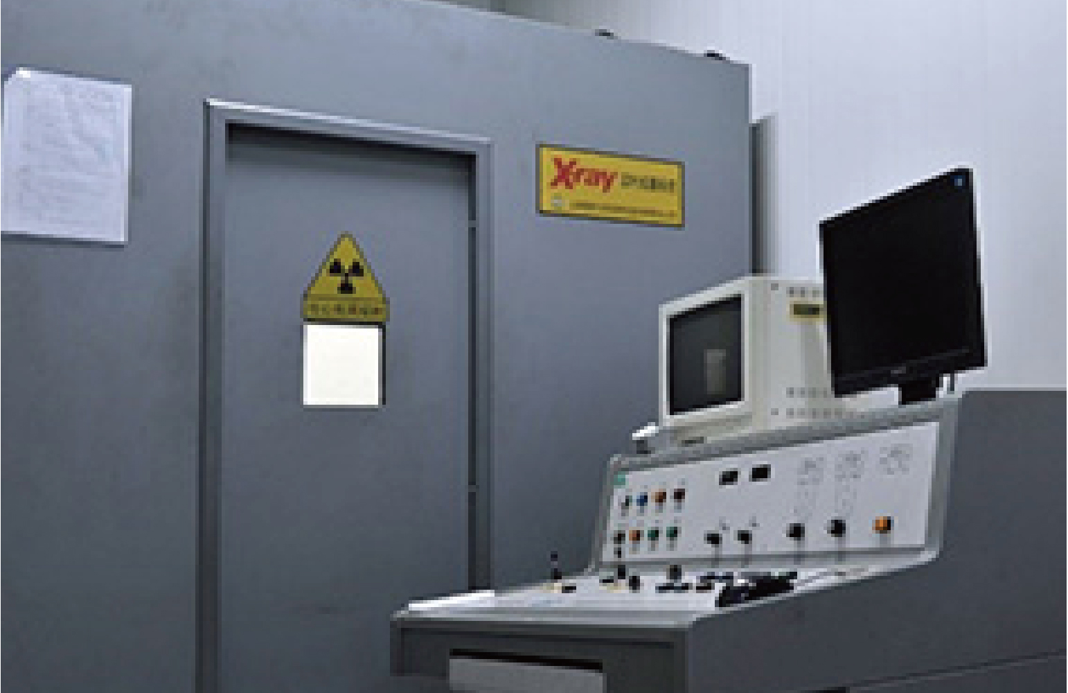 X-ray Equipment of gas porosity test for die casting parts