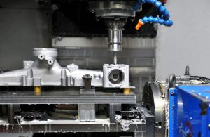 CNC Machining Production in Machining workshop