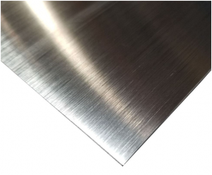 Bright Brushed Clear Anodized Aluminum Sheet