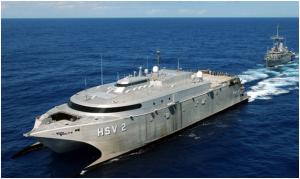 US Navy High-Speed Aluminum Vehicle